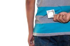Preservativo del pellame Fotografie Stock Libere da Diritti