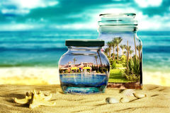 Preserve the memory of vacation.  Royalty Free Stock Image