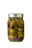 Preserved bean salad Royalty Free Stock Images