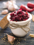 Preserved beet Royalty Free Stock Photo