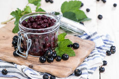 Preserved Black Currants Royalty Free Stock Images