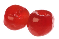 Preserved Cherries Isolated Royalty Free Stock Photography