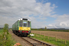 Preserved DMU train Stock Photos