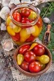 Preserved domestic tomato Royalty Free Stock Photo