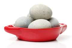 Preserved duck eggs Royalty Free Stock Images