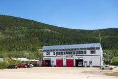 An historic building from klondike days Royalty Free Stock Photography