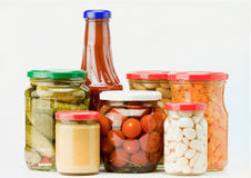 Preserved food Royalty Free Stock Photo