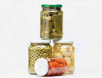 Preserved food Royalty Free Stock Images
