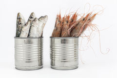 Preserved or fresh food Royalty Free Stock Photography