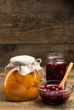 Preserved Fruit Royalty Free Stock Photography