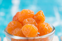Preserved fruits or dried honey Chinese plum Royalty Free Stock Photo