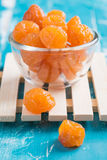 Preserved fruits or dried honey Chinese plum Stock Image