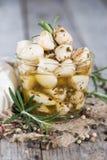Preserved Garlic Royalty Free Stock Photos