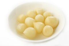 Preserved garlic Royalty Free Stock Photography