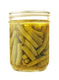 Preserved green beans Stock Photography