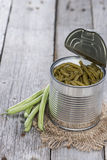 Preserved Green Beans Royalty Free Stock Photo