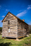 Preserved histric wood house WITH blue sky Stock Image