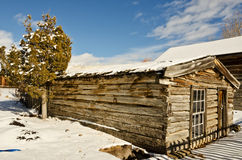 Preserved Log Cabin Royalty Free Stock Image