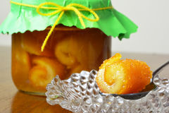 Preserved oranges Stock Photography