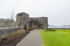 Preserved ruins from the fortification Stock Photos