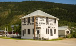 An historic building from klondike days Stock Photo