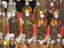 Preserved snakes at Luang Prabang Laos Royalty Free Stock Images