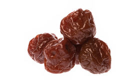 Preserved Sweetened Plums Royalty Free Stock Images