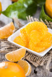 Preserved Tangerines Royalty Free Stock Image