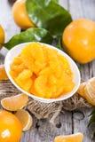Preserved Tangerines Stock Photos