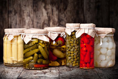 Preserved vegetable Royalty Free Stock Image