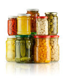Preserved vegetables Stock Photos