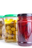 Preserved vegetables Royalty Free Stock Photo