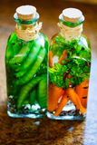 Preserved vegetables Royalty Free Stock Image