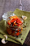Preserved vegetables Stock Photography