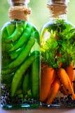 Preserved vegetables Stock Image
