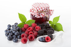 Preserves from fresh fruits Royalty Free Stock Image