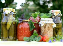 Preserves Royalty Free Stock Photography