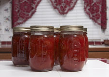 Preserves in the Kitchen Royalty Free Stock Images