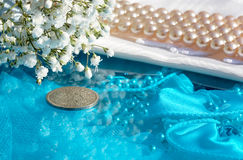 Preserving bridal memories Stock Photo