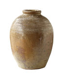 Preserving clay jar Stock Images