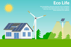 Preserving the environment and using renewable Stock Images