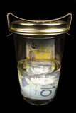 Preserving money Stock Images
