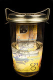 Preserving money Stock Photo