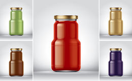 Preserving packaging Stock Photos