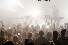 The presets in Concert Stock Photos