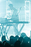 The presets in Concert Royalty Free Stock Photography