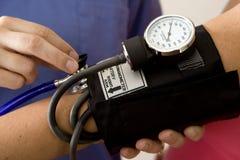 Presión arterial imagen de archivo libre de regalías