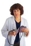 Presión arterial Fotografía de archivo libre de regalías