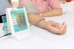 Presión arterial Foto de archivo