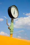 Presión del gas Imagen de archivo